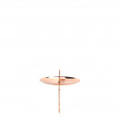 Advent candlestick, made of metal, diameter 60mm